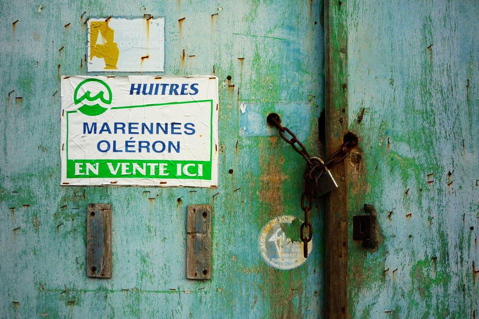 Huitres Marennes Oléron En vente ici